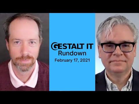 AWS is the Biggest Enterprise Storage Vendor | Gestalt IT Rundown: February 17, 2021