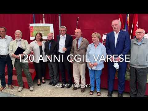 La Cgil di Varese compie 120 anni