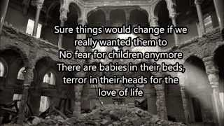 The Cranberries Bosnia Lyrics/Letra