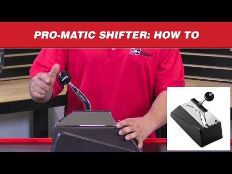 How to Shift a Hurst Pro-Matic Shifter