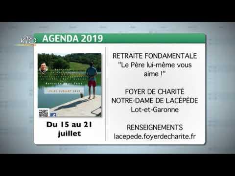 Agenda du 1er juillet 2019