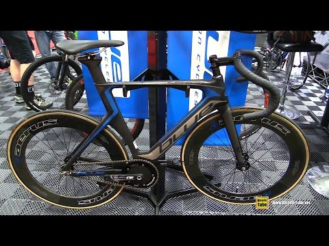 2017 Blue Lehigh Track Bike – Walkaround – 2016 Interbike Las Vegas