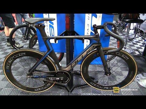 2017 Blue Lehigh Track Bike – Walkaround – 2016 Interbike Las Vegas