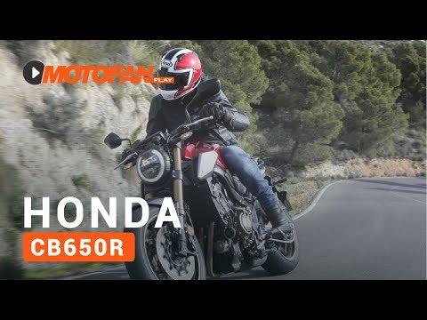 Vídeos de la Honda CB650R