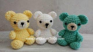 Crochet Your Own Mini Bear Introduction