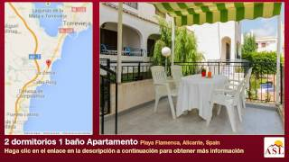 preview picture of video '2 dormitorios 1 baño Apartamento se Vende en Playa Flamenca, Alicante, Spain'