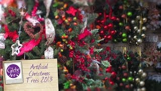 preview picture of video 'Artificial Christmas Trees 2013 | Glebe Garden Centre Leicester'