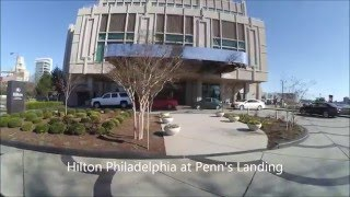 Hilton Philadelphia at Penn's Landing ****Hotel review [HD]