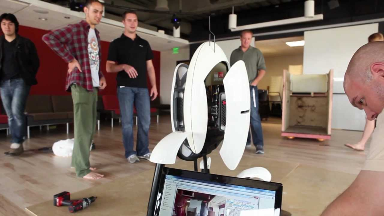 Watch Valve Set Up A Real, Working Portal Turret
