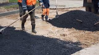 Ремонт дороги в Гродно