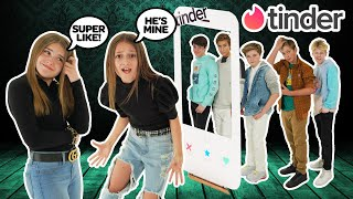 TINDER IN REAL LIFE! My CRUSH Reacts To My NEW BOYFRIEND **DATING GAME**🔥| Piper Rockelle