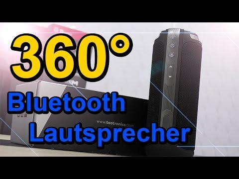 TaoTronics 20W 360 Grad Bluetooth Lautsprecher Testbericht