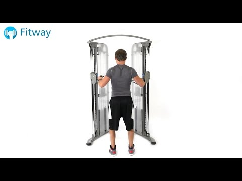 How To Do: Cable Row - Standing Cross | Back Workout Exercise