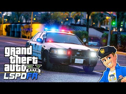 GTA 5 LSPDFR One Call - LAPD Pursuit | GTA 5 LSPDFR Realistic Police Patrol | CVPI ELS