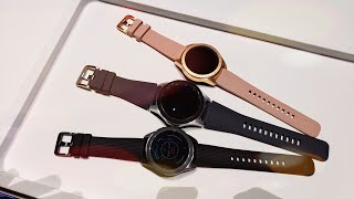 New Samsung Galaxy Watch Hands On And First Look!