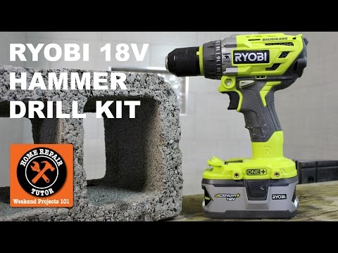 Ryobi 18V Brushless Hammer Drill Kit (Affordable Power)