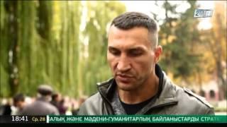 Владимир Кличко рассказал, какой бой Геннадия Головкина он хотел бы посмотреть