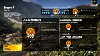 Season 7 Week 3/4 Solo Challenge 1 - Ghost Recon Wildlands