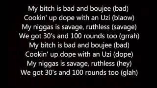 Bad and Boujee Lyrics