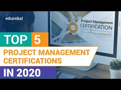 Top 5 Project Management Certifications in 2021 | Project ...