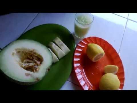 Video Cara Mengobati Penyakit Maag Dengan Buah Melon & Lemon