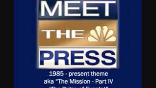 NBC's Meet the Press theme - aka