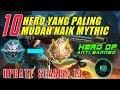 10 Hero OP Paling Mudah Naik Mythic Jarang Di Banned Update Season 13