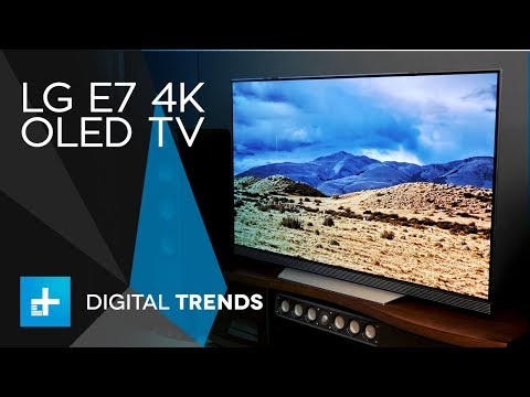 LG E7 4K OLED TV - Hands On Review