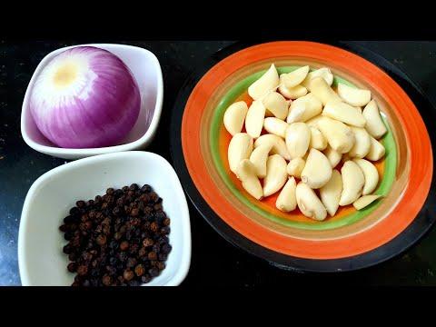 , title : 'நோய் எதிர்ப்பு சக்தி அதிகரிக்க பூண்டு மிளகு பிரட்டல்| Lockdown Recipe in Tamil | Garlic Pepper Roast