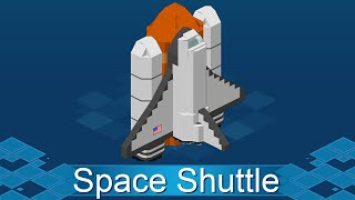 Set your on this 100 MEGA space shuttle tutorial by German Habbo