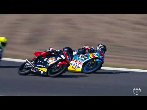 All the action from the two European Talent Cup races at Jerez