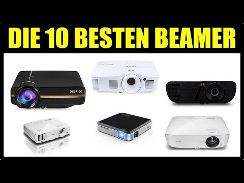► DIE 10 BESTEN BEAMER PROJEKTOREN ★ Beamer unter 200 € - 500 € ★ Heimkino Beamer Test 2018 ★ BEAMER