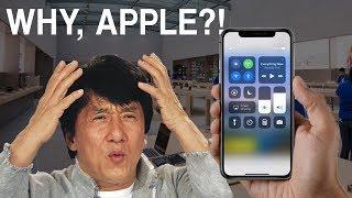 The new Apple iPhone X design is DUMB!