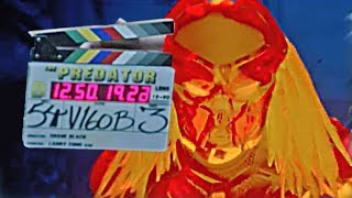 The Predator - B-Roll & Behind the Scenes (2018)