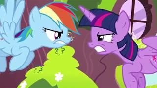 MLP TMNT - Twilight VS Rainbow (TMNT 2007 Scenes)