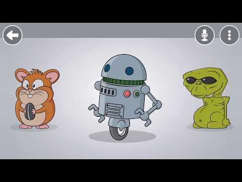 Vídeo do VoiceTooner - Muda voz com desenhos animados