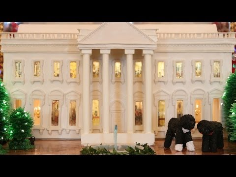 The (Gingerbread) White House