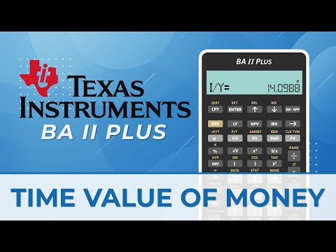 Time Value of Money Calculations with Texas Instruments BA II ...