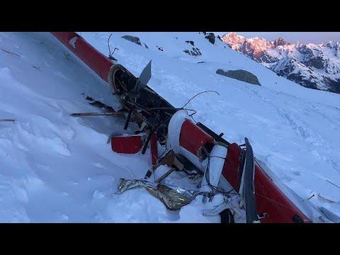 Επτά οι νεκροί από το δυστύχημα στις Άλπεις (vid)