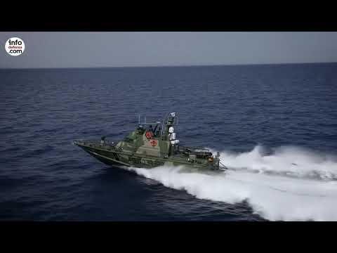 Estas son las lanchas patrulleras Shaldag MK II de la Prefectura Argentina