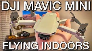 DJI Mavic Mini Indoor Flight Demo