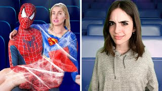 SNEAKING SUPERHEROES INTO THE MOVIES...is DUMB