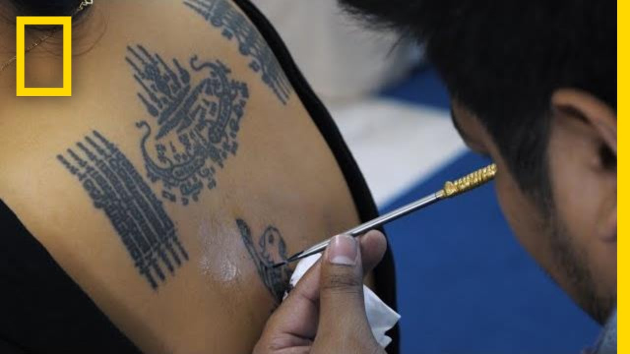 Former Monk Blesses Others With His Spiritual Tattoos   National Geographic thumbnail