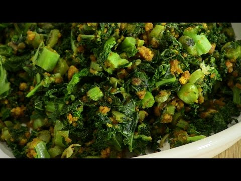 Kale Subzi – Indian Vegetarian Recipe