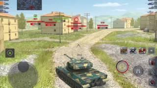World of Tanks Blitz - AMX 50 120 gameplay