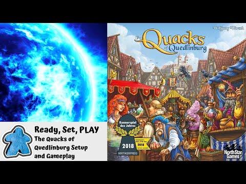 Ready, Set, PLAY - The Quacks of Quedlinburg Setup and Gameplay