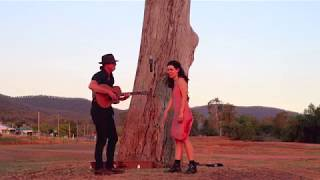 Swung a rode mic up over the limb of a dead tree @Bingara - Knockin' Boots