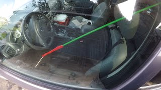 Ford Escape Hybrid Lockout:  How to break into your own car!