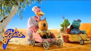 The Koala Brothers. Clip. The Go-Kart Race