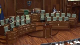 Seanca e Kuvendit, Haradinaj në dy interpelanca (Drejtpërdrejt)